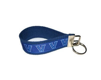 Villanova Wildcats Wristlet Key Ring