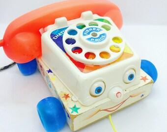 Fisher Price telephone 1961