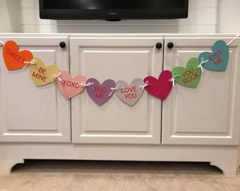 Valentine's Day - Conversation Heart Garland