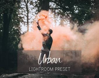 Urban Moody Lightroom Preset - Mood Film Look