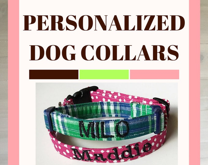 Featured listing image: Dog Collar Personalization Add On