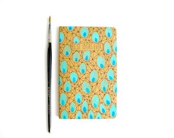 Cute journal notebook, Daily journal, Moleskine notebook, Small gifts for women, Journal diary, Pocket notebook, Blank journal, Writer gifts