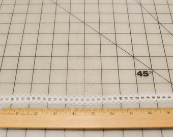 Vintage Lace, Narrow, White, 8 and 3/4 Yards