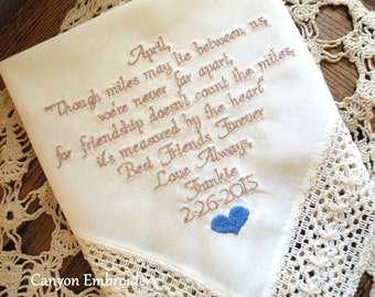bachelorette Party Gift, bachelorette party favor, bachelorette party decor, personalized bachelorette gift Canyon Embroidery