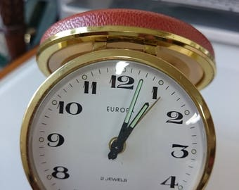 Vintage Alarm Clock EUROPE Mechanical Made in Germany