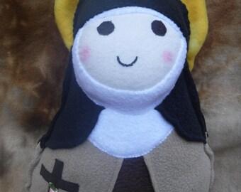 Saint Doll St. Therese Soft Catholic Religious Toy