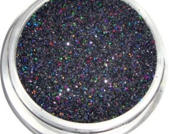 Black Holographic Glitter