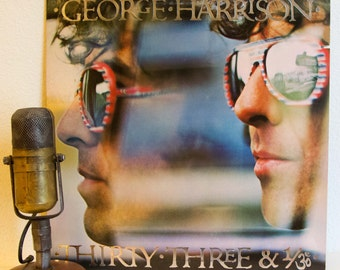 "George Harrison (The Beatles) Vinyl  1970s Classic Rock ""Thirty Three and 1/3"""
