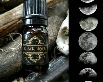 NEW! BLACK MOON oil ~ Essential Oil Perfume 5ml ~ 10ml ~ 15ml by Nightshade Botanicals