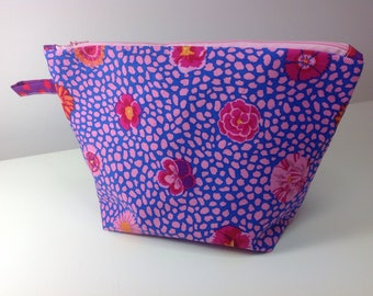 Project bag for knitting or sewing