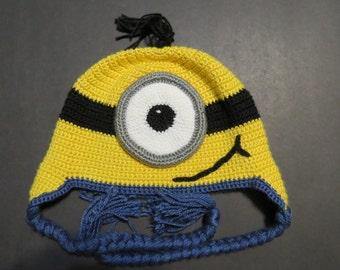 One Eyed Minion Hat