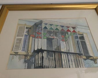 Gibraltar Stained Glass Balcony