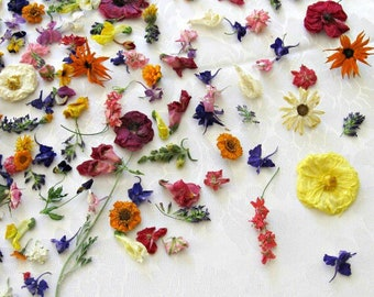 Bulk Wedding Confetti, Dried Flowers, Centerpiece, Table Decor, Flower Girl, Biodegradable, Flower Girl, Craft Supply, Aisle Decor, 105 cups