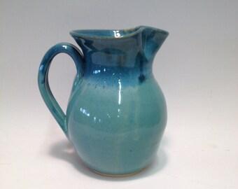 Turquoise Picture ( Tea Picture / Juice Picture) Handmade Pottery / Ceramics