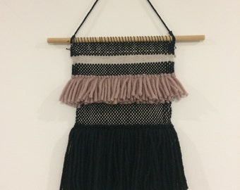 Weaving wall hanging
