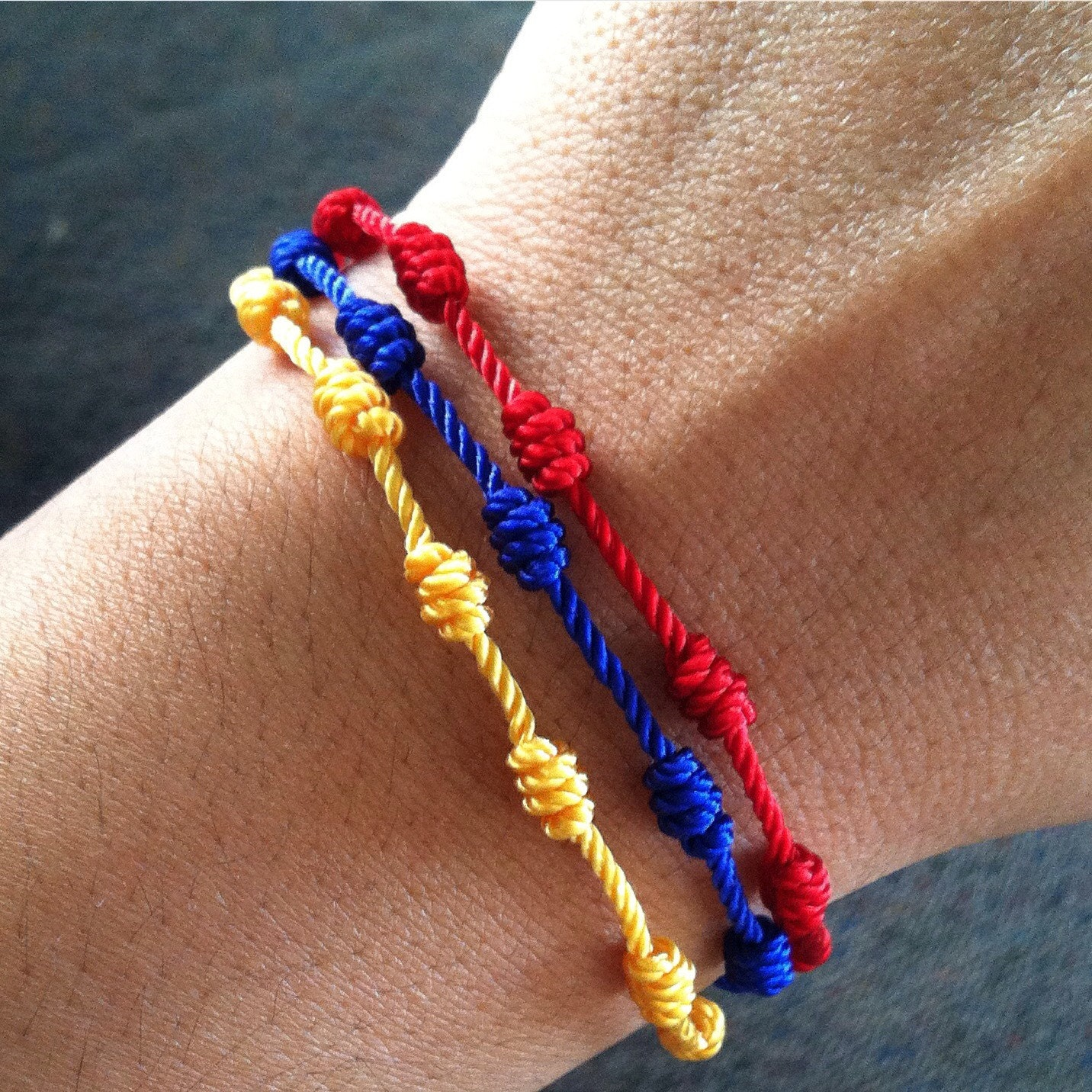 kid bracelets anklet il listing surfer fullxfull friendship string stacked wax bracelet