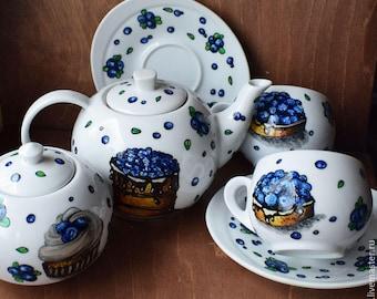 Blueberry Tea Party