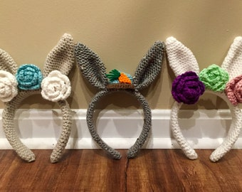 Easter Bunny Headband Kids/Toddlers
