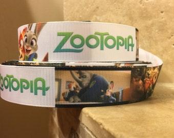 5 YDS Zootopia Ribbon