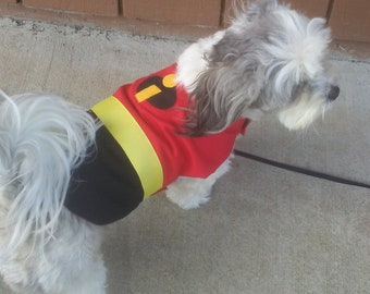 The Incredibles, Incredibles dog costume, Incredibles dog jacket