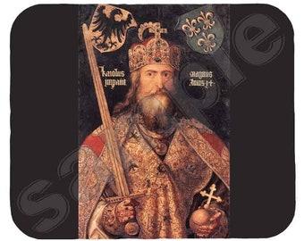 Mouse Pad; Charlemagne