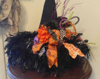 Witch's Hat on a pedestal