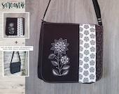 Funky Flower bag flap for...