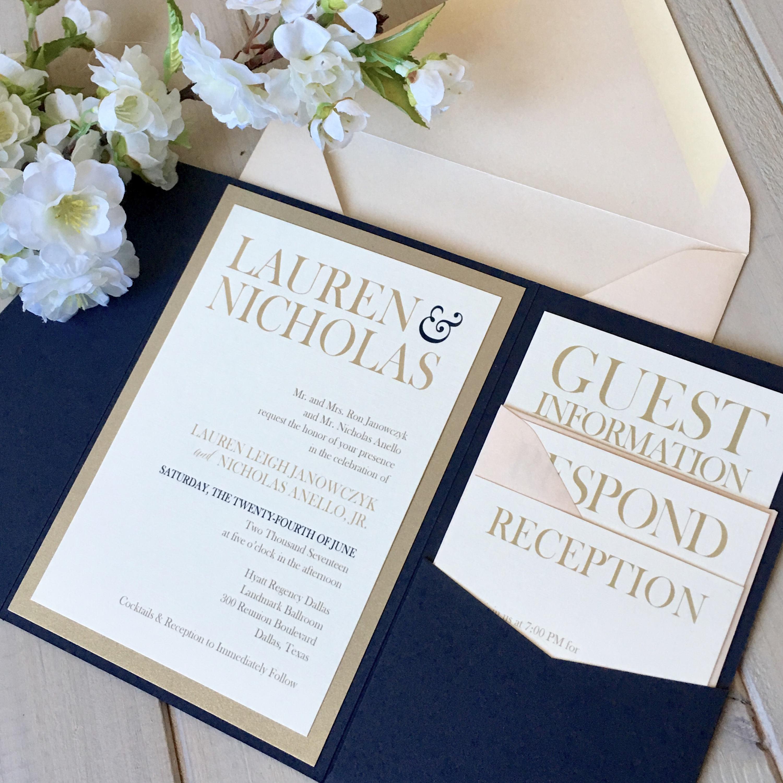 Lauren daniels wedding invitations