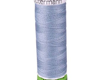 Tile Blue Gutermann Recycled Polyester Thread (GT64)