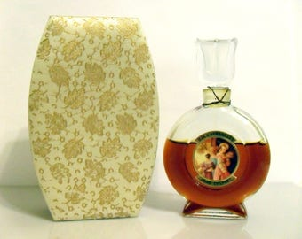 Vintage 1970s Bal a Versailles by Jean Desprez  1 oz Pure Parfum Splash and Box Extrait PERFUME