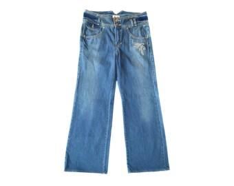 Vintage Kenzo women charlstone jeans blue