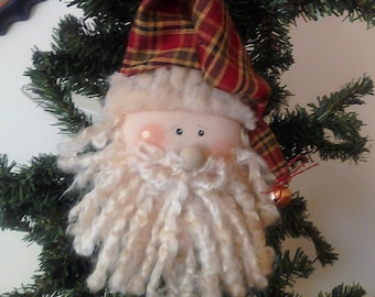 WCCOFG, Handmade, Santa, Christmas, Ornament