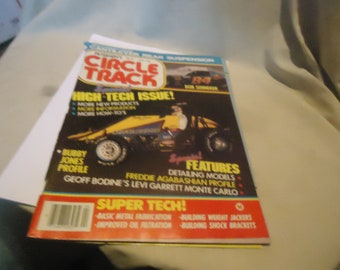 Vintage April 1985 Petersen's Circle Track High Tech Issue! Magazine Volume 4 Number 4, collectable
