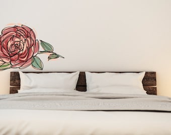 A Rose is a Rose is a Rose is a Rose Wall Decal