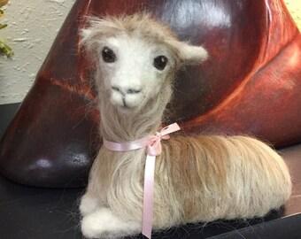 Custom Needle Felted Pet Sculpture
