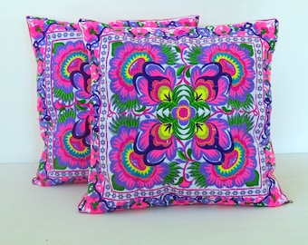 Ethnic Pillow, Bohemian Pillow, Pillow Case, Chair Pillow, Pillow Cover, Gift, Decorative Pillows, Cushion Covers, Sofa Pillow Covers.