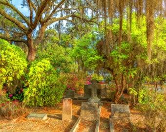 Springtime at Bonaventure, Savannah, Georgia