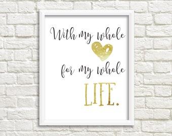 Printable Art, Wall Prints, Love Art Print, Wall Decor, Printable Decor, Printable Wall Decor