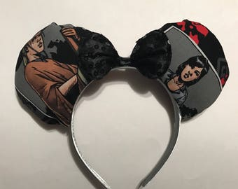 The Walking Dead Inspired Minnie Mouse Ears*Ready To Ship*