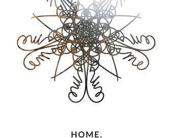June Mandala Sigil #3: HOME.