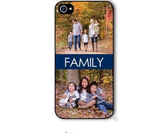 Personalized Photo iPhone Case Custom Monogram Case iPhone 4 iPhone 5 iPhone 6 Plus Tough Phone Case 2 Photo Case