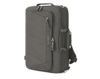 Mens Laptop Backpack 3 Way Bag College School Bag Shoulder Bag 350