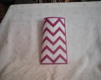 PDF Plastic Canvas Pattern Chevron Eyeglass Case