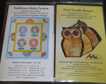 Embroidery Design CDs and Patterns for Small Projects