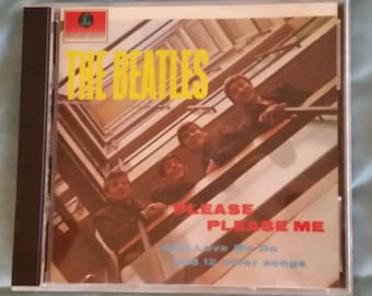 The Beatles (CD) - Please Please Me ('87 Reissue/Twist And Shout/I Saw Her Standing There/Love Me Do)