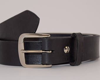Mens Leather Dress Belt. Mens Leather Casual Belt, Leather Belt, Dress Belt, Casual Belt