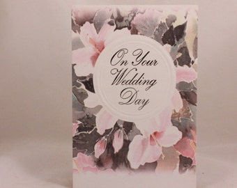 "Paper Images ""On Your Wedding Day"" Greeting Card and Envelope"