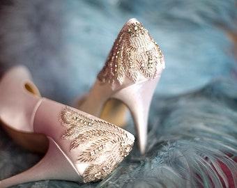 Wedding shoes etsy junglespirit Choice Image