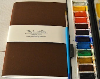 Watercolor journal, cahier refill with 40 pages 300gsm  Fabriano supreme watercolor paper