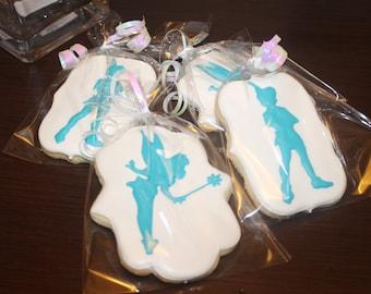peterpan and tinkerbell cookies